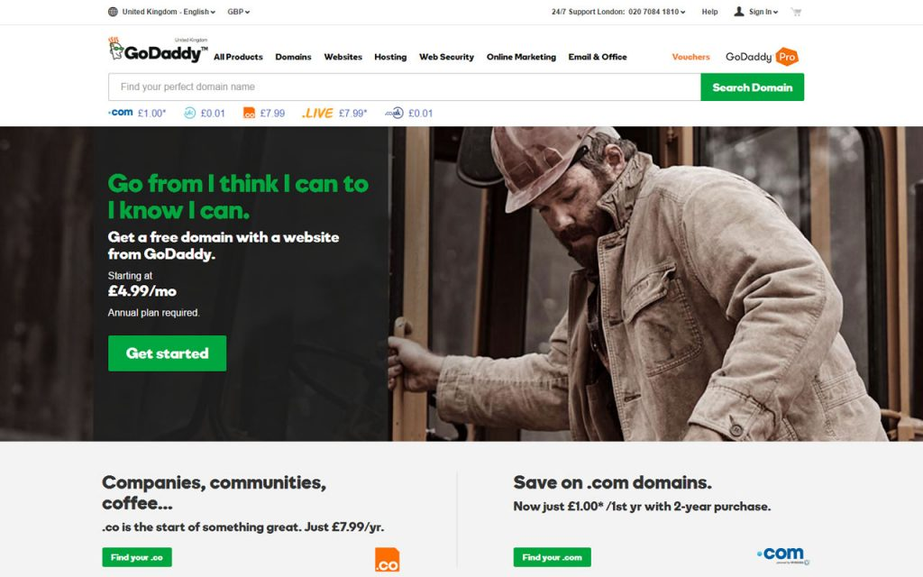 Start a blog - GoDaddy